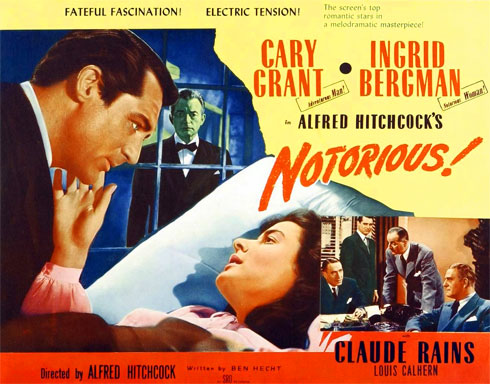Movie poster for notorious
